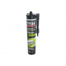 Битумно-каучуковый герметик для кровли TYTAN PROFESSIONAL черный 310мл