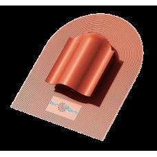 Кровельный вентиль К-VS-4 для мягкой кровли красный