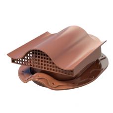 Кровельный вентиль К-VS-3 для металлочерепицы коричневый