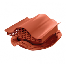 Кровельный вентиль К-VS-3  для металлочерепицы красный