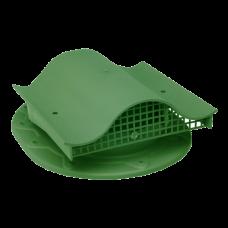Кровельный вентиль К-VS-2 для прямой кровли зеленый