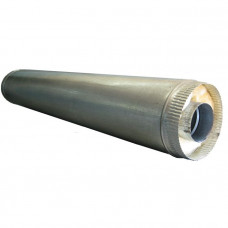 Труба сэндвич 1 метр 150х210 оцинкованная сталь-оцинкованная сталь