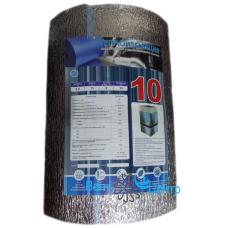 Теплоизоляция воздуховодов и вентиляционных систем, толщ. 10, шир. 0,6, дл. 15, (рулон 9 м2)