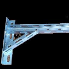 Кронштейн оцинкованный U-образный 200 мм