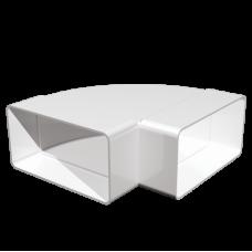 Колено горизонтальное плоское 9291 (90х220)
