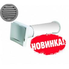 КИВ М1 100 0,5м ТИХОНЯ с алюминиевой решеткой и антимоскитной сеткой