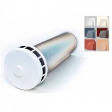 КИВ К2 125 0,5м с пластиковым козырьком.  Клапан Инфильтрации Воздуха