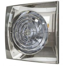 Вентилятор накладной Эра AURA 4C CHROME D100 с обратным клапаном