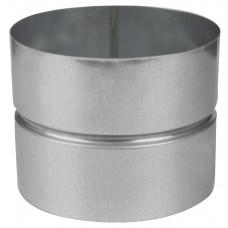 Муфта, d 100 из оцинкованной стали