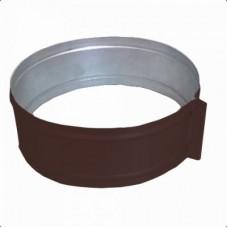ХСК 210 хомут стяжной из оцинкованной стали коричневый