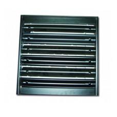 300х300 клапан алюминиевый к потолочным решеткам 4VA 450х450