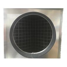 Кассетный угольный фильтр d 100мм