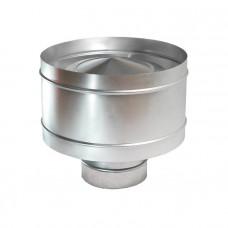 Дефлектор, d 100 из оцинкованной стали
