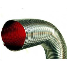 Газоход гофрированный d 115 мм (1.5м) из нержавеющей стали