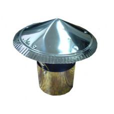 Зонт ф 80  из нержавеющей стали 0,5мм