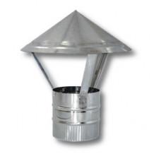 Зонт ф140  из нержавеющей стали 0,5мм