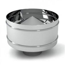 Дефлектор ф 80 из нержавеющей стали