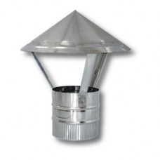 Зонт ф400 из нержавеющей  стали 0,5мм