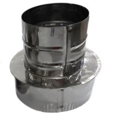Переход 120х 80 AISI 430 нержавеющая сталь 0,5 мм