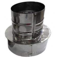 Переход 130х 80 AISI 430 нержавеющая сталь 0,5 мм