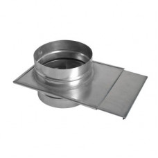 Шибер ф140 из нержавеющей стали
