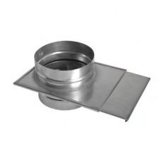 Шибер ф150 из нержавеющей стали