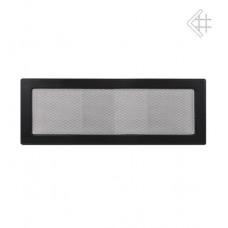 Решетка каминная 17х48 черная