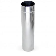 Дымоход ф 110 1м н1 из нержавеющей стали AISI 430/1мм