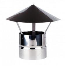 Зонт ф 110 н1 из нержавеющей стали AISI/1мм