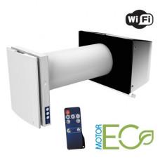 VENTO Expert A50-1 S W для тонких стен комнатная реверсивная установка с регенерацией тепла и управлением через WI-FI