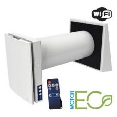 VENTO Expert A50-1 W комнатная реверсивная установка с регенерацией тепла и управлением через WI-FI