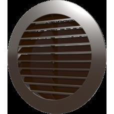 16РКН кор, Решетка наружная вентиляционная круглая D200 с фланцем D160, ASA кор
