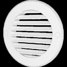 12РКН, Решетка наружная вентиляционная круглая D161 с фланцем D125, ASA