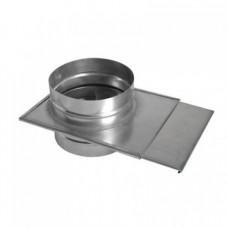 Шибер ф160 из нержавеющей стали