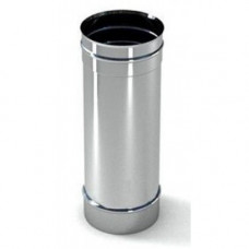 Труба  ф125 1м  из нержавеющей  стали