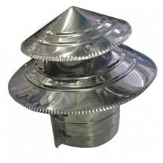 Зонт ф125-2  двухъярусный из нержавеющей стали 0,5мм