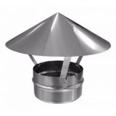 Зонт ф160  из нержавеющей стали 0,5мм