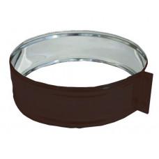 ХСН ф110 коричневый хомут стяжной из нержавеющей стали глянец
