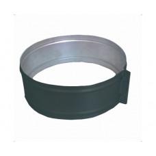 ХСО 130 зеленый хомут стяжной из оцинкованной стали