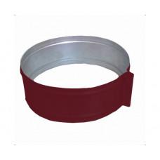 ХСО 140 красный хомут стяжной из оцинкованной стали