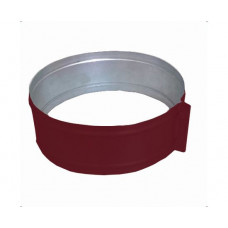 ХСО 220 красный хомут стяжной из оцинкованной стали