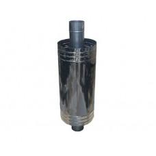 Экономайзер  115/200 сварной нержавеющая сталь 1мм глянец