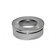 Заглушка 125/200 нержавеющая сталь
