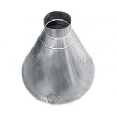 ЗВОК d1000/ h650 купольный для тандыра из оцинкованной стали зонт вытяжной