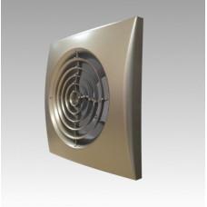 Вентилятор накладной Эра AURA 4C CHAMPAGNE D100 с обратным клапаном