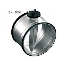 Клапан с ручным приводом SK 630 DVS