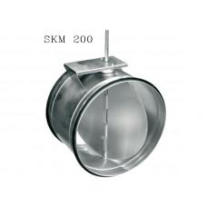Клапан под э/привод SKM 200 DVS