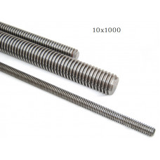 Шпилька М10х1000 резьбовая оцинкованная