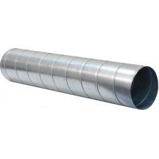 Спирально-навивной воздуховод круглого сечения 3 м (0,5 мм) d 100 мм