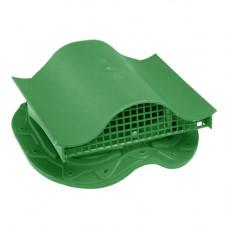 Кровельный вентиль К-VS-3 для металлочерепицы зеленый